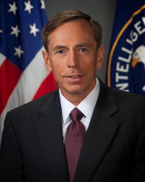 ... and former U.S. General Petraeus: Commander of U.S. Central Command