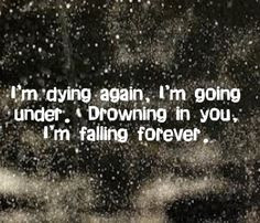 Evanescence - Going Under - song lyrics, song quotes, songs, music ...
