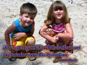 ... little brothers now her protectors seem like big brothers astrid