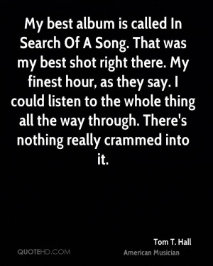 Tom T Hall Quotes