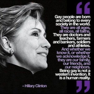 Being gay is not a Western invention. It is a human reality.