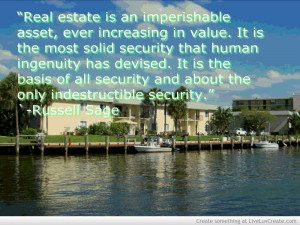 Quotes About Real Estate