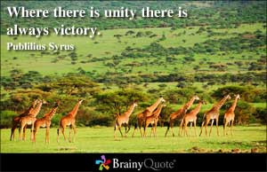 God Unity Quotes