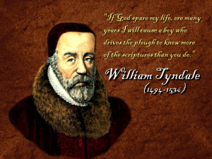 Christian Quote: William Tyndale Papel de Parede Imagem