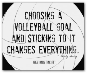 sayings volleyball sayings volleyball quotes volleyball sayings ...