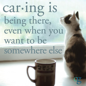 Caregiving Quote of the Day... #alzheimers #tgen #mindcrowd www ...