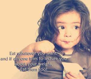 funny quotes about eating