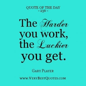 Work Quote The Day Daily...