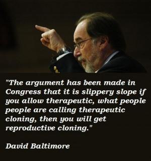 David baltimore famous quotes 5