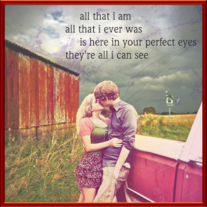 country song lyrics quotes about love
