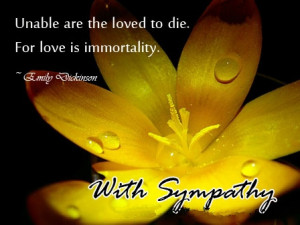 Sympathy Picture Messages