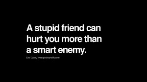 Quotes on Friendship, Trust and Love Betrayal A stupid friend can hurt ...