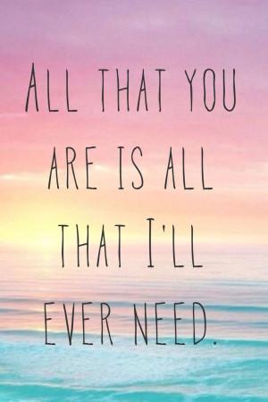 so in love / Ed sheeran / quote