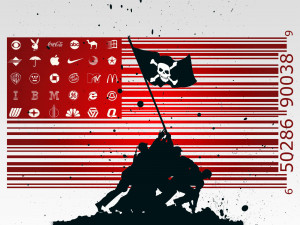 Funny American Flag - Wallpaper #30734