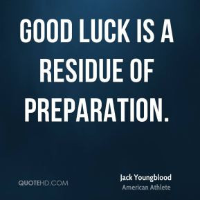 Good Luck Residue Preparation