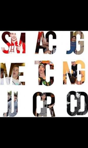 Shawn, Taylor, carter, Cameron, jack g, jack j, nash, matt ...