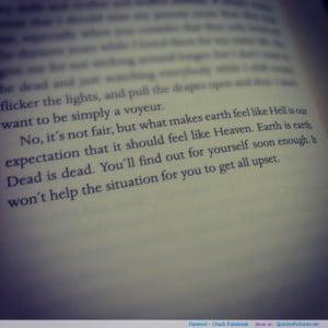 Famous Quotes Chuck Palahniuk