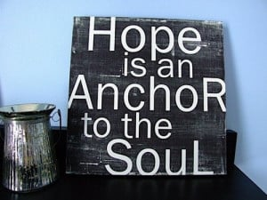 Hope Anchors The Soul Hebrews