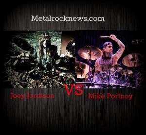 Joey Jordison Mike Portnoy