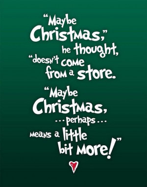 christmas quotes the # grinch