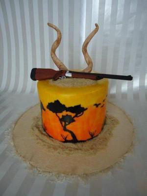 Safari Grooms Cake Cakes...