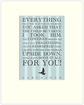 Labyrinth Jareth Movie Quote by Emily Farquharson