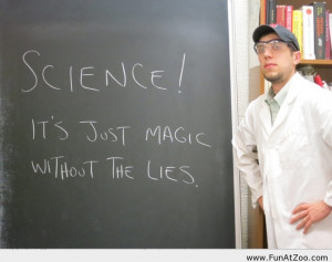 Funny Definition of science Funny picture