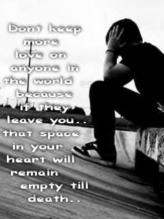 Sad Boy Wallpaper 240x320 alone, in, love, alone, sayings, love, hurt ...