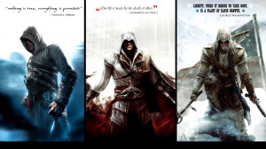 video games assassin assassins creed altair quotes ezio assassins ...