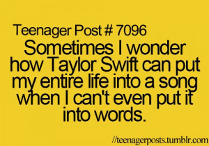 Seriously? Its like shes in my mind.