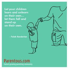 Parenting Quote - #overprotective #parents More @ http://www.parentous ...