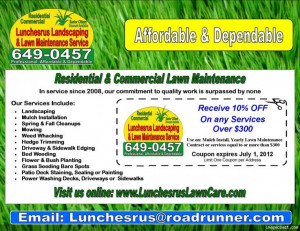 Care Flyers   New Lawn Care Business Flyer Template Added Funny Quotes ...