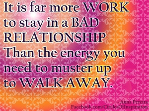 Walking Away Quotes Relationships Walk away from bad