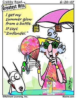 Cartoon: Maxine tells you how to get a summer glow and gives a ...