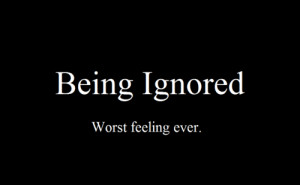Feelings Off. No one cares about me.
