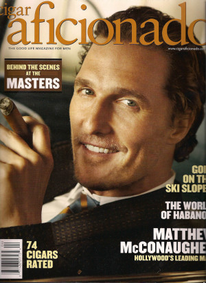 """Matthew McConaughey on the paparazzi: """"that check's already been ..."""