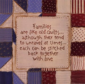 Family Quilts ~ Fine-Art Print