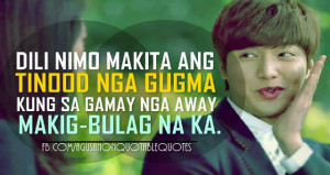 10 Cheesy Cebuano Quotes For Those Who Are In Love