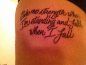 ... fall # tattoos # quotes # strength quotes strength tattoo quotes