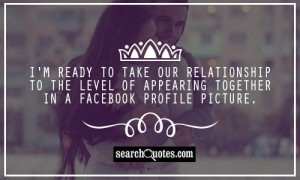 Quotes For Facebook Profile Picture Captions ~ Good Facebook Profile ...