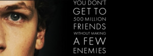 The Social Network Quote Facebook Timeline Cover