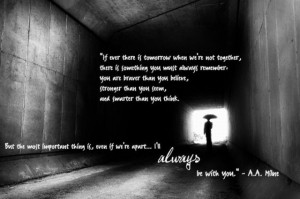 ll Always be With You ~ Inspirational Quote