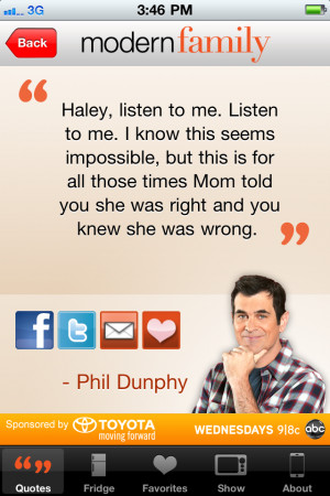 Download Modern Family: Family Sayings free for iPhone, iPod and iPad