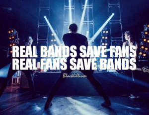 Real Bands Save Fans 5SOS Quotes