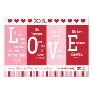 Christian Valentine Card