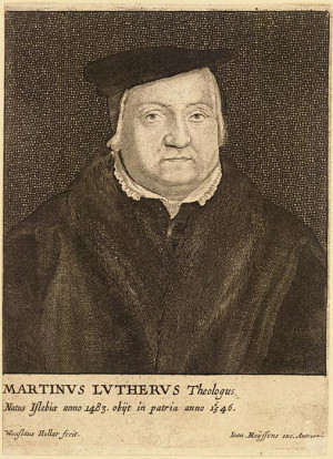 Birth of Martin Luther, Protestant Reformer Featured