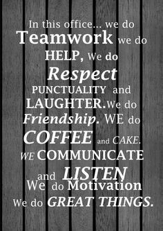 The perfect sign for my IR family! Awesome Workplace Affirmation by ...