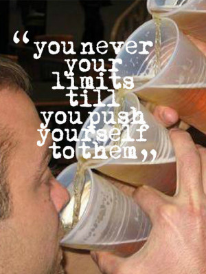 Drunkspiration: Motivational Fitness Quotes Vs. Heavy Drinking