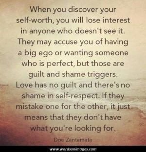 Self worth quote