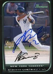Alberto Gonzalez Baseball...